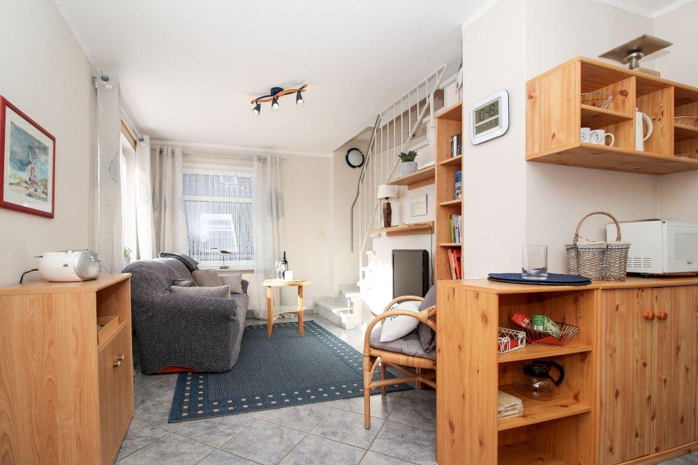 Wohnbereich Ferienwohnung 2